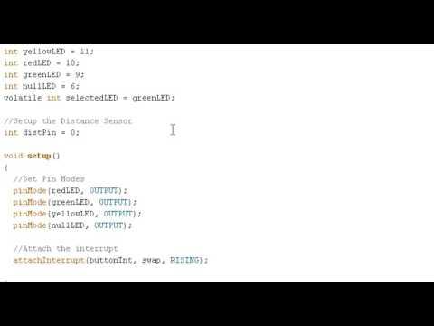Видеоуроки по Arduino  10 2 Прерывания 10 я серия, ч2