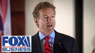 Democrats' massive stimulus bill a 'big mistake': Sen Rand Paul