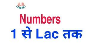 English में Numbers Basic English Speaking