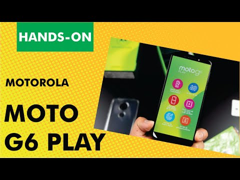Moto G6 Play   Unboxing