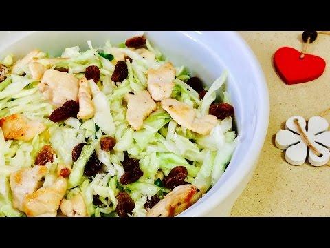 Салат из белокочанной капусты рецепт салаты Афиша Еда