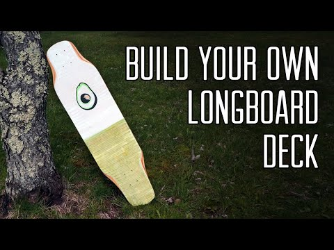 The Absolute Easiest Way To Build A Longboard