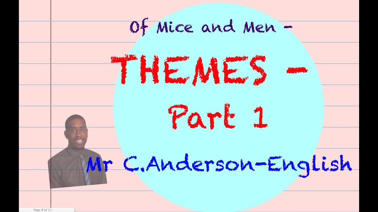 of mice and men theme of