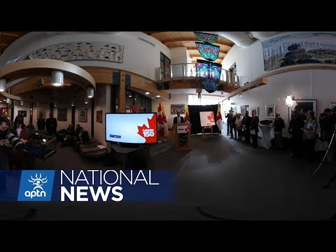 New Canada 150 Stamp Celebrates Nunavut Becoming a Territory in 1999 | APTN News