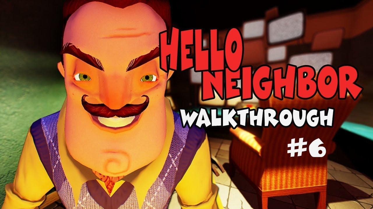 Hello Neighbor Walkthrough Gameplay Android Ios Escape