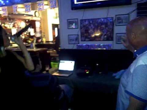 Annie & Rob on Karaoke