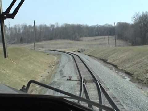 Loading CN Coal Train at Pond Creek Mine & Running down the Edgewood Cut Off