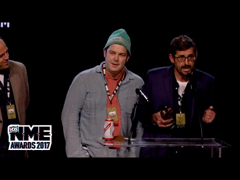 Louis Theroux wins Best Film at the 2017 VO5 NME Awards