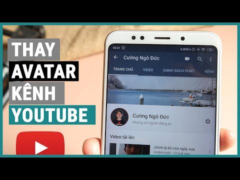 Đổi hình avatar youtube bằng điện thoại | Ghiền smartphone