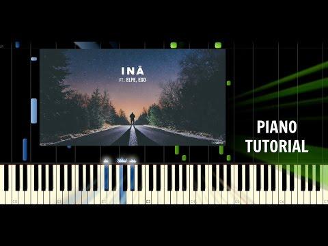 DJ Wich - Iná (ft. Elpe, Ego) - Piano EASY Tutorial - Synthesia