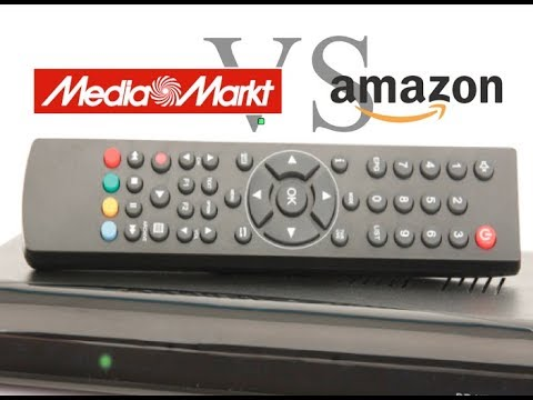 Mediamarkt vs. Amazon DVB-C Receiver