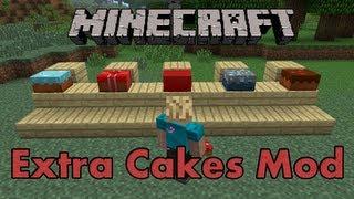 Minecraft: Extra Cakes | (Chocolate Cake, Poison Cake, Mmmmmm)