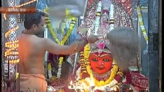 Viewers witness aarti at Harsiddhi Temple in Ujjain