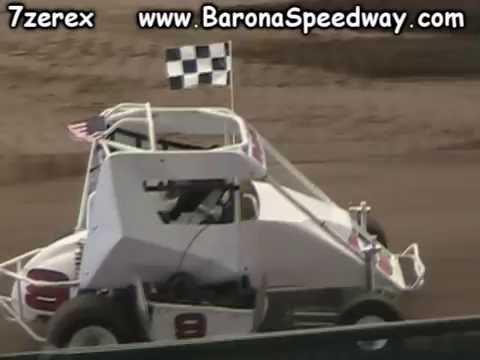 Barona Speedway Junior Sprints Main San Diego County Fair 7-4-2016