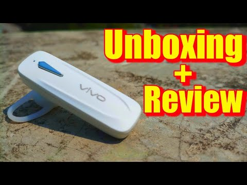 Vivo Bluetooth Headset Unboxing Review Rs 250 Youtube