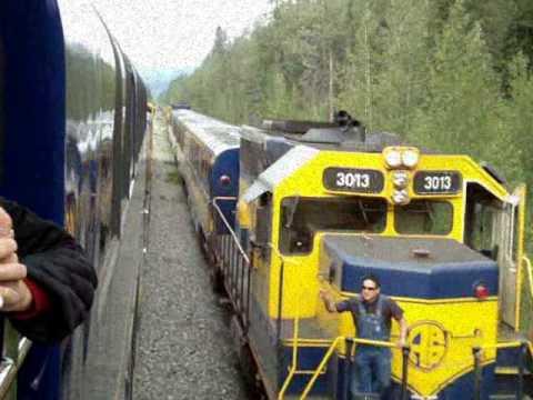 "Alaska Railroad Music Video - ""Never Marry A Railroad Man"""