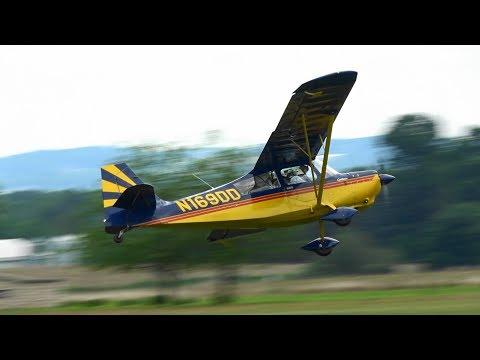 Tom Beamer - Citabria Aerobatics - Golden Age Air Museum Flying Circus, Bethel, Pa. 6/10/17