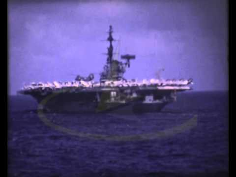 French Navy At Sea 1970s