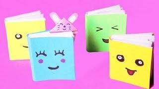 Làm đồ chơi cho búp bê   DIY làm cuốn tập và kẹp đánh dấu trang mini   Ngôi nhà trẻ thơ