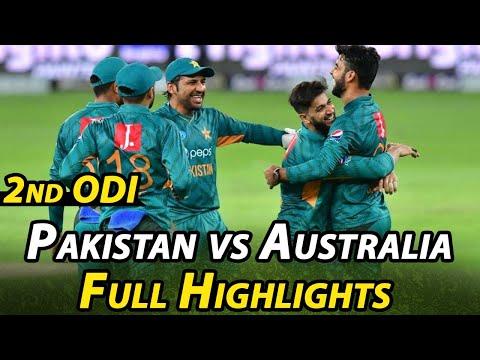 Pakistan Vs Australia | 2nd ODI Highlights | PCB