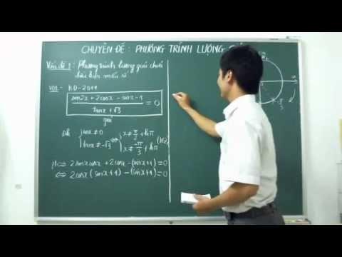 [ĐTN] Phương trình lượng giác