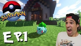 UNA NUEVA AVENTURA | SurviMon Pokemon en Minecraft | Episodio 1