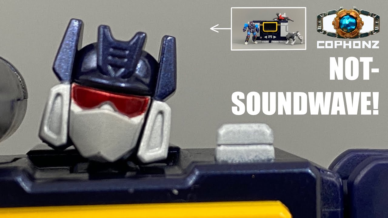 No Words Review of Newage H21 Scaramanga (Legends size MP Soundwave) by COPHONZ