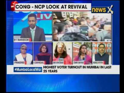 BMC Polls: D-Day for Mumbai local war; highest voter turnout in Mumbai in last 25 year