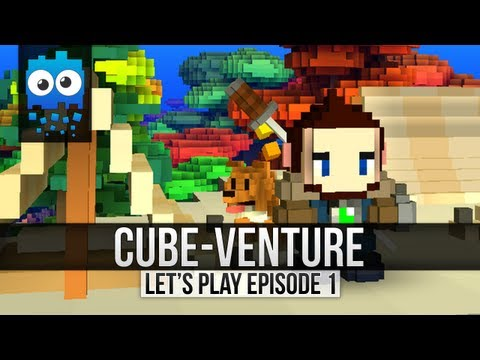 Cube-Venture Episode 1 : Cube World Alpha Let's Play!