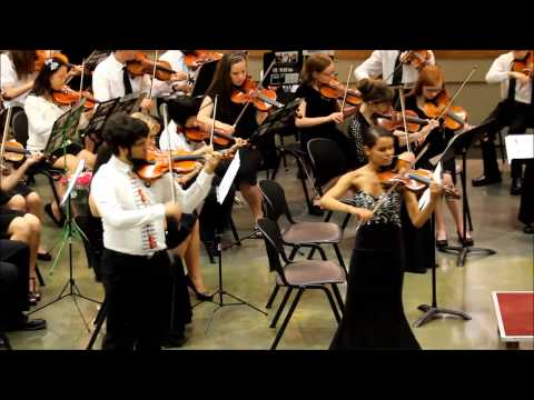 "Southern Mississippi Youth Orchestra ""Concerto for Two Violins"""