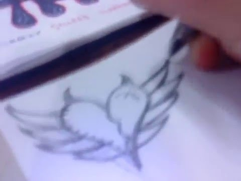 How To Draw A Emo Heart