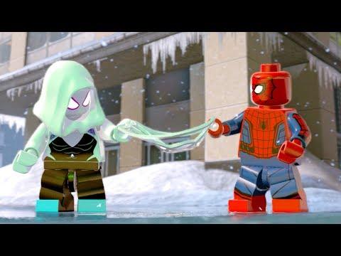 LEGO Marvel Super Heroes 2 Spider man Meets Spider Gwen