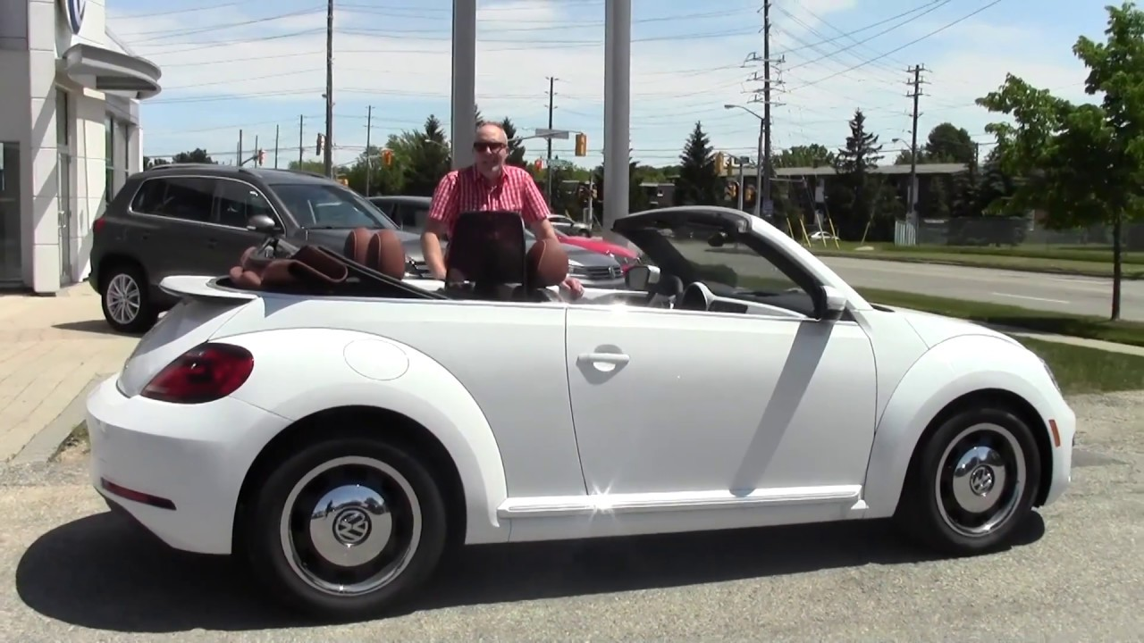 Tech Tip With Mike Raab Wind Screen Beetle Convertible