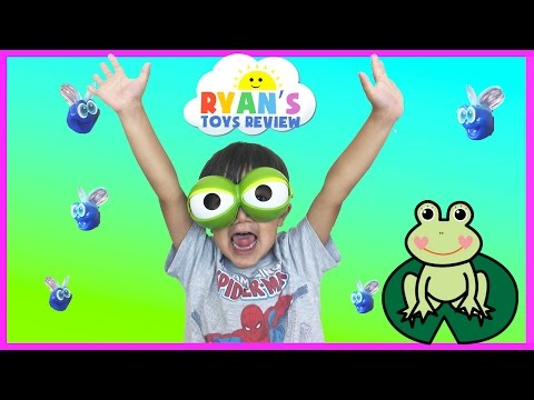 Thumbnail: Family Fun Game for Kids Fool the Frog Egg Surprise Toys Car Tomica Disney Pixar Finding Dory