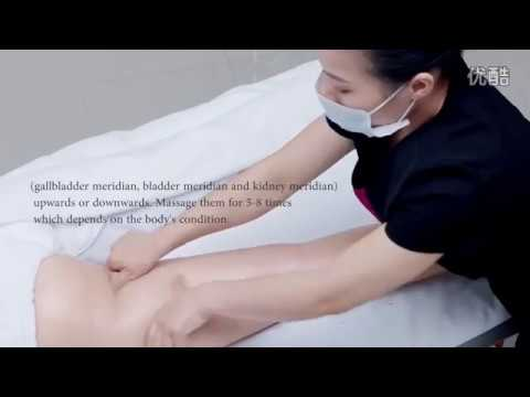 Latoja Sliming Cream Demonstration massage for saloon or beauty slim centre (English Version)