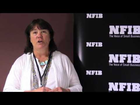 NFIB member Kelly Moore explains why she is a #smallbizvoter