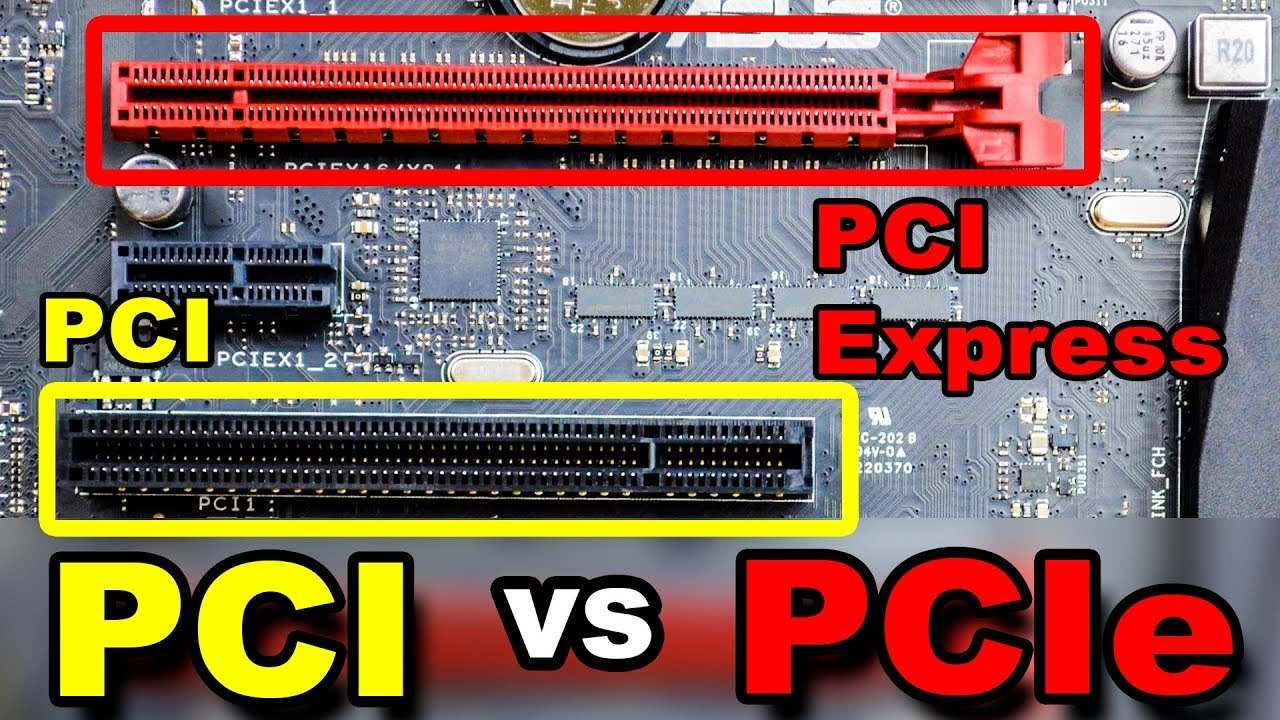 Unterschied Pci Pci Express Slots