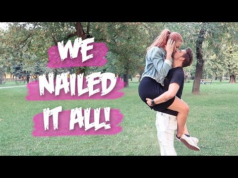 Recreating cute couple poses/photos with my taller girlfriend, Girlfriend & Boyfriend | Couple games