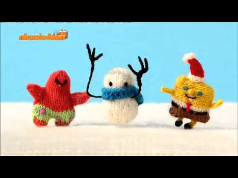 Spongebob Christmas 2014 Bumper 2 [Nickelodeon Greece]