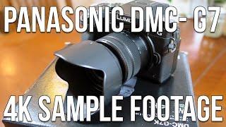 Panasonic Lumix DMC-G7 4K Sample Footage [4K]