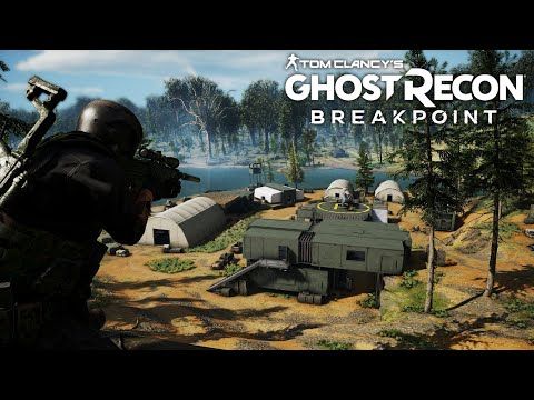 Taking out a Max Level Wolf Camp! (lvl 150) - Ghost Recon Breakpoint