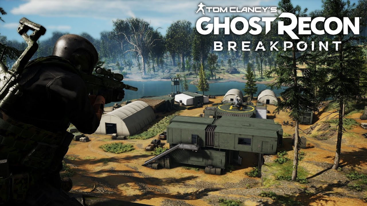 Taking Out A Level 150 Wolf Camp Sniper Gameplay Ghost Recon