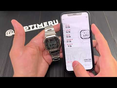 Обзор наручных часов Casio GMW-B5000D-1E ✅ VipTime.ru