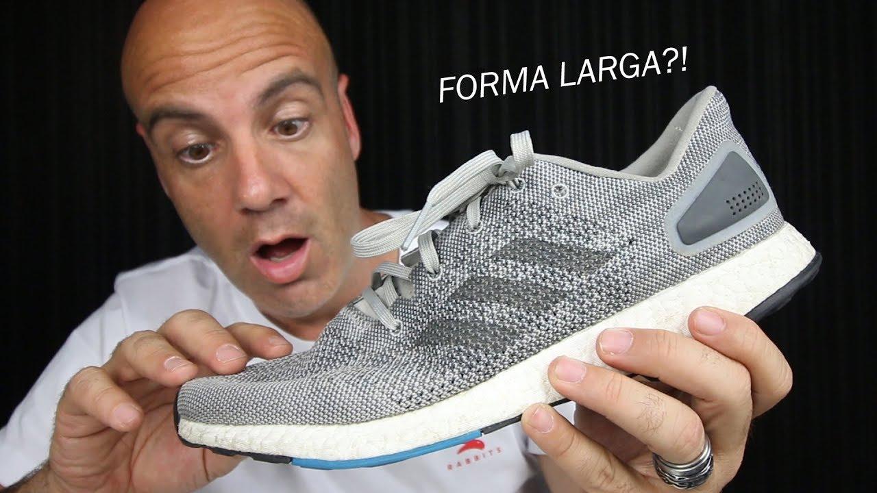 TÊNIS DA ADIDAS COM FORMA LARGA ! Adidas PureBoost DPR - Review ... f73148ea1faa7