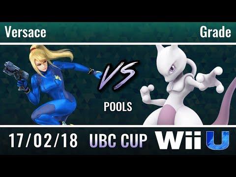 UBC Cup 2018: Pools - Versace (Zero Suit Samus) vs Grade (Mewtwo)
