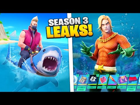 Fortnite SEASON 3 - NEW LEAKS EXPLAINED!
