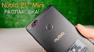 ZTE Nubia Z17 Mini - встречаем по одежке. Распаковка смартфона с 2 камерами!