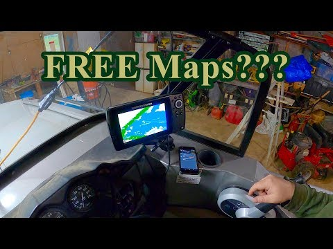 Free Lake Maps For Cellphone And Fish Finder???