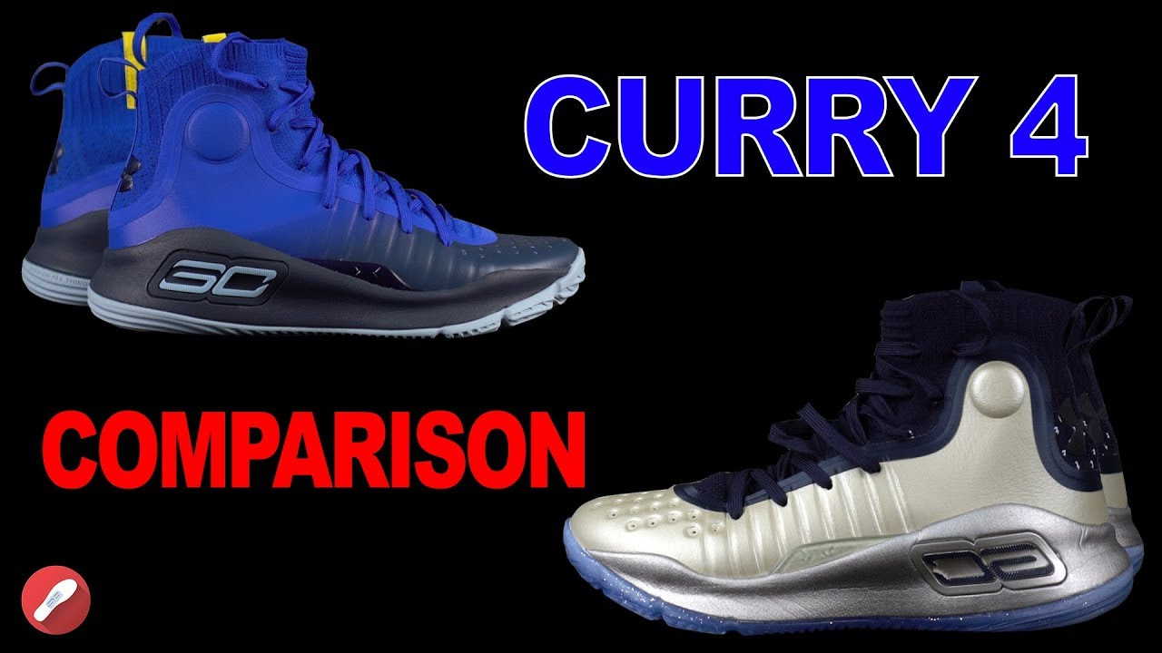 6c512c84c57f Under Armour Curry 4 FAKE Comparison! - YouTube