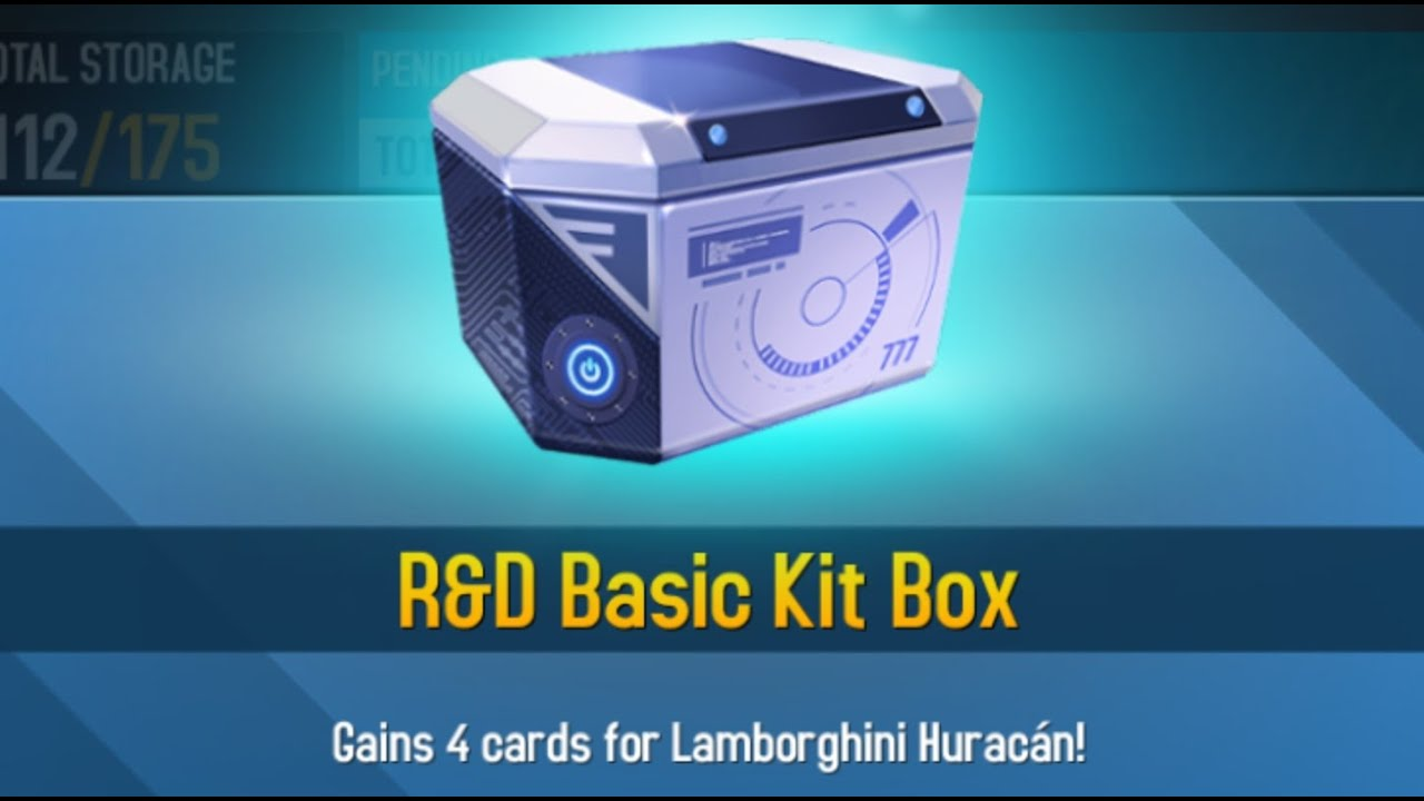 asphalt 8 basic kit box r d lamborghini huracan youtube. Black Bedroom Furniture Sets. Home Design Ideas